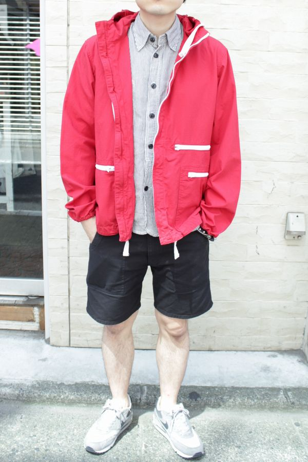 EngineeredGarments WIND BREAKER-COTTON RIPSTOP