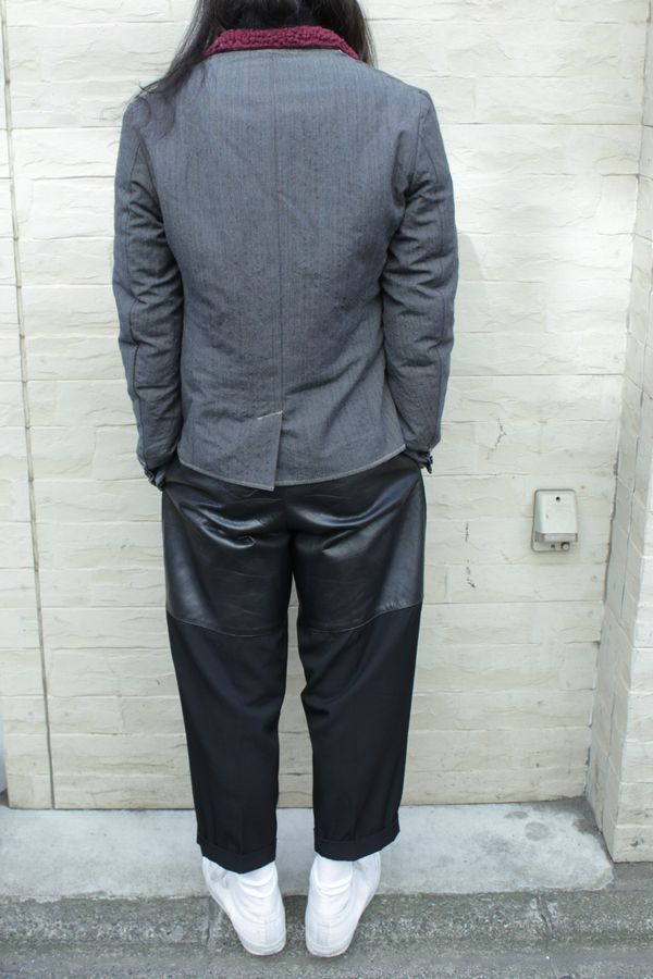 kolor 内ボアテーラードジャケット
