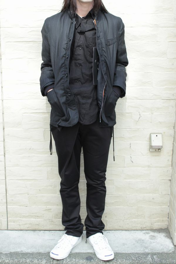 uniformexperiment 13AW REVERSIBLE MA-1 BLOUSON