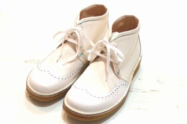eyeJUNYAWATANABEMAN × CAUSE 14SS Wing Tip boots ブーツ