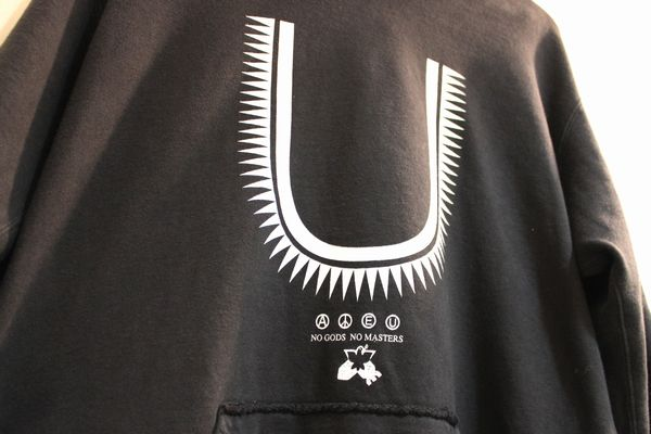UNDERCOVER 16SS 5分袖SWパーカ