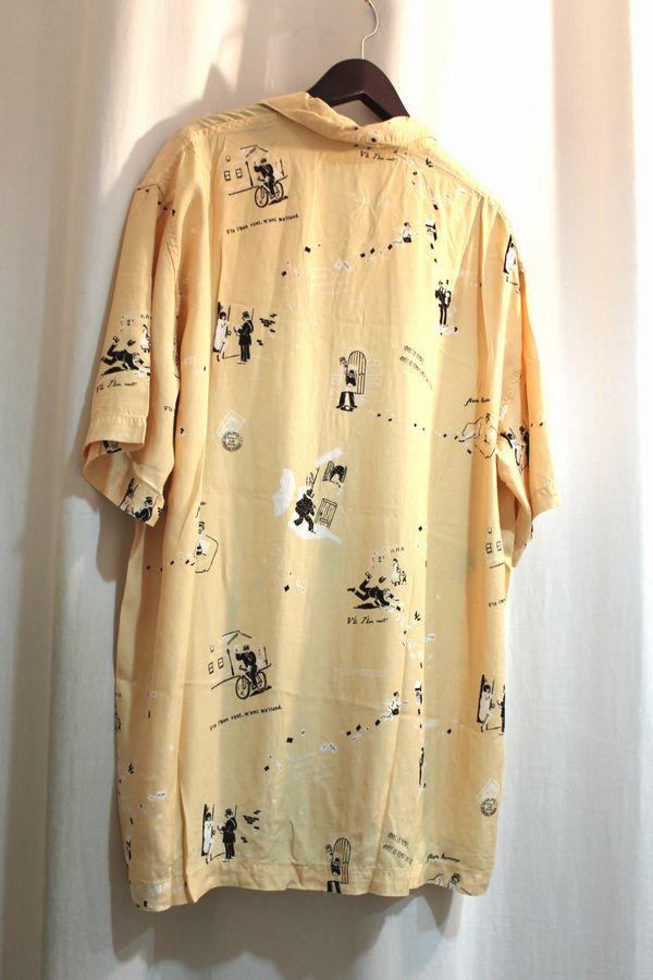 PORTERCLASSIC 15SS アロハシャツ