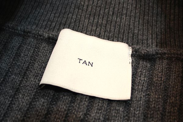 TAN TAN 16AW-2 RIB BUGGY COL.M BLIZZARD GRAY パンツ