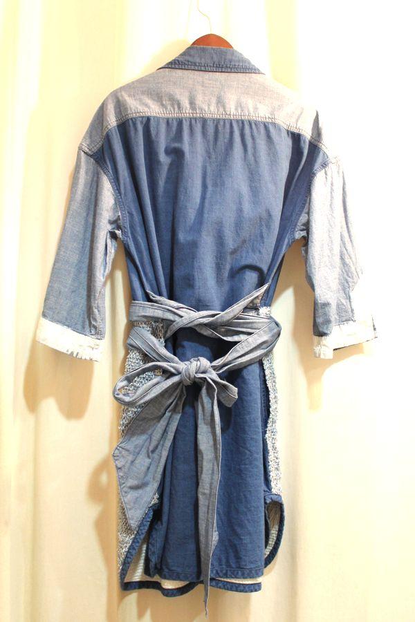 mame マメ 16SS デニムシャツドレス ワンピース