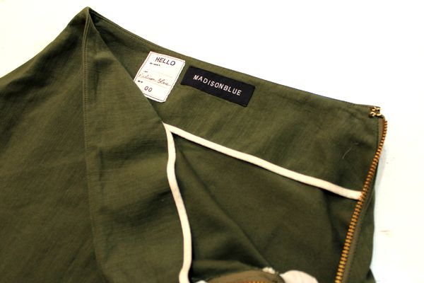 MADISONBLUE マディソンブルー 16AW L SATIN MI-MOLLET FLAIR SKIRT スカート