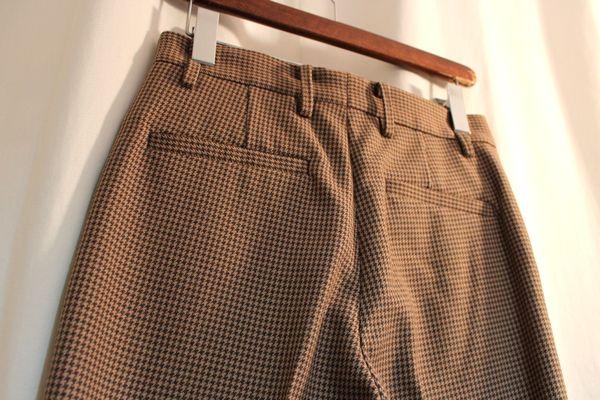 6(ROKU) ロク ビューティー&ユース 16AW HOUNDS TOOTH PANTS パンツ